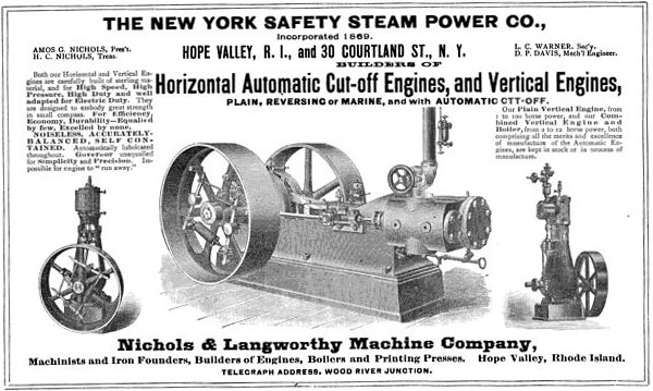 New York Safety Steam Power