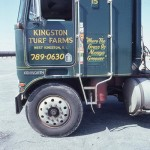 Kingston Turf Farms donated the use of their flatbed trucks.