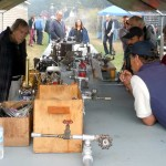The really nice model engines were on the compressed air table