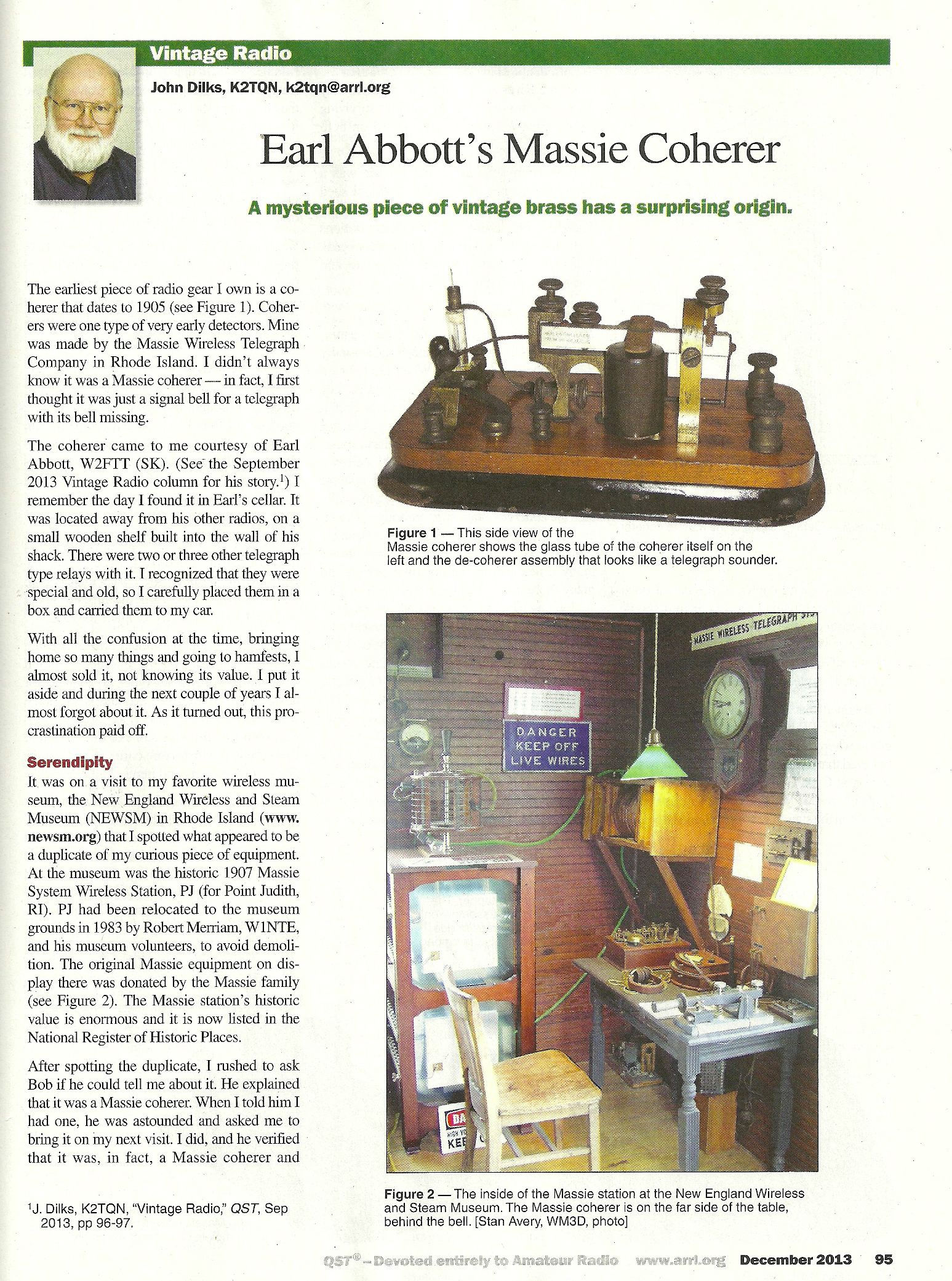 QST December 2013 page 1