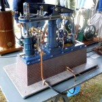 Rolf Richter's newest beam engine model
