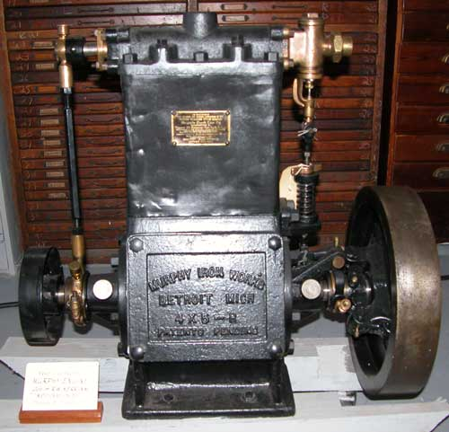 Murphy Iron Works steam engine