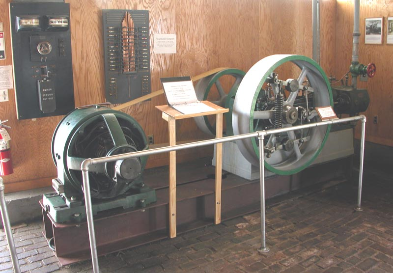 Nichols & Langworthy horizontal engine