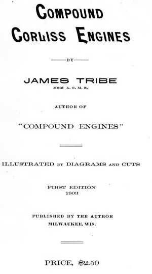 Compound Corliss Engines, 1903