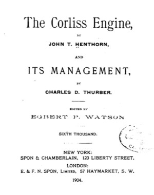 The Corliss Engine and Its Management