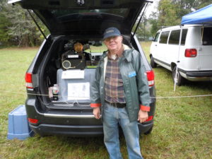 Ed Moxon demonstrated his Creed Transmitter.