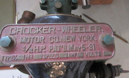 Crocker-Wheeler Bipolar DC Generator – New England Wireless