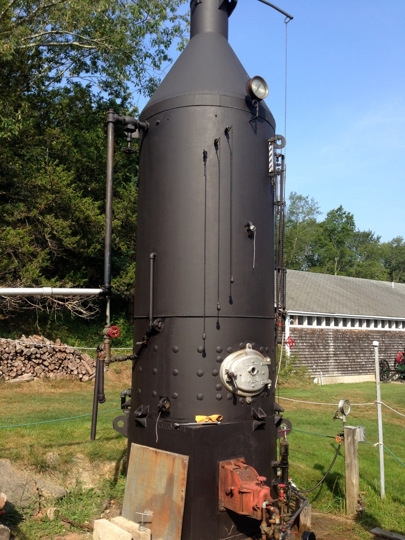 Eclipse Lookout Boiler New England Wireless Amp Steam Museum