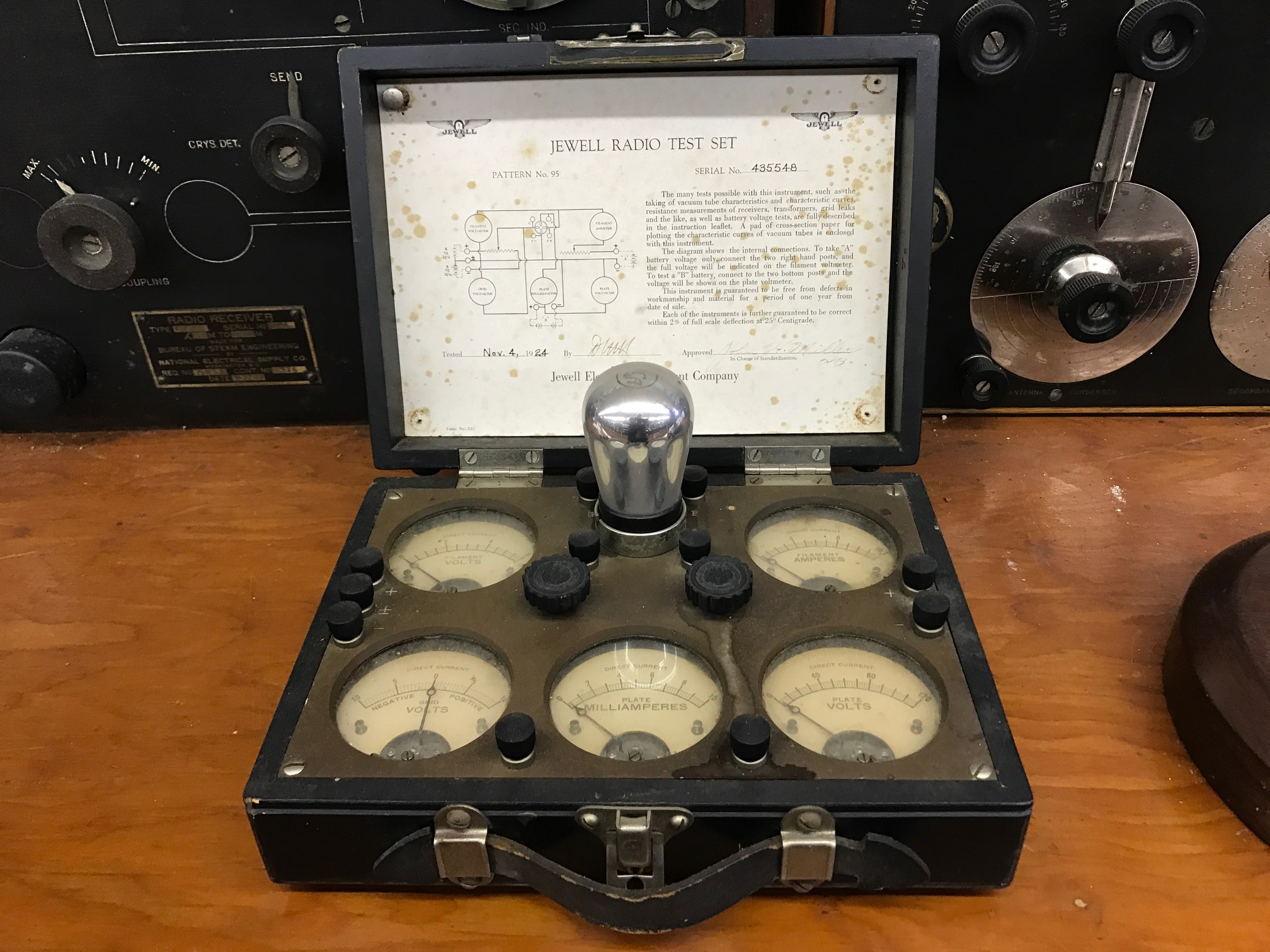 Jewel Radio Test Set – New England Wireless & Steam Museum